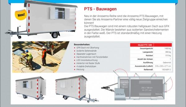 Anssems PTS Bauwagen
