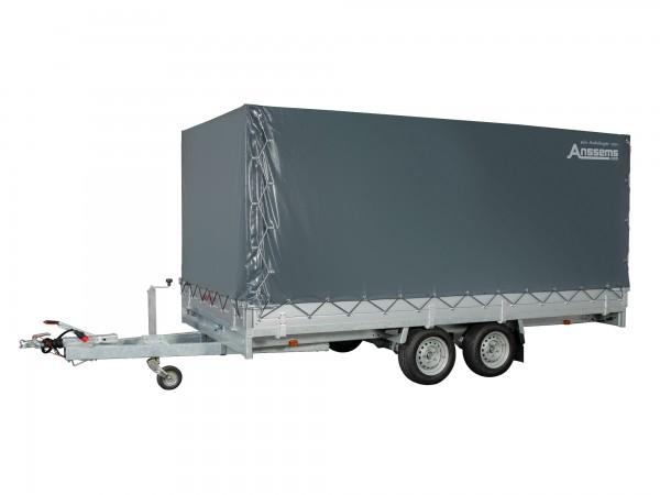 Anssems ASX 2500.405x178 mit Auffahrrampen und Hochplane 180cm